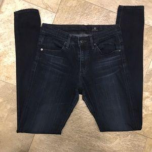 AG Farrah high waist skinny jeans 26